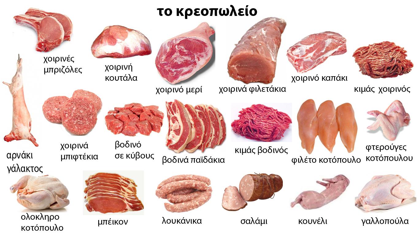 Греческий словарь. Мясо и мясные продукты. Путеводитель ...: http://ostrov-kipr.info/site/life?art_id=1118