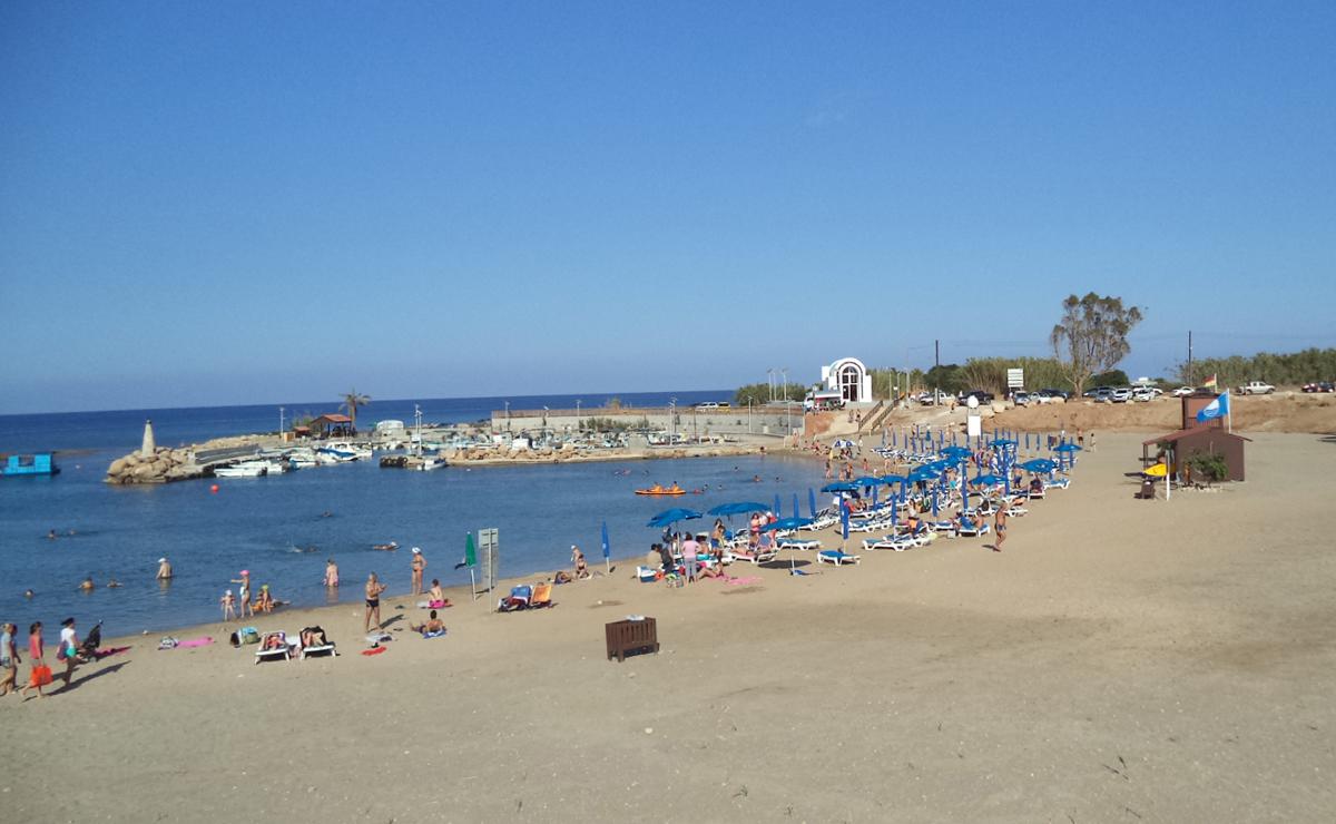 Island of Agia Triada beach property