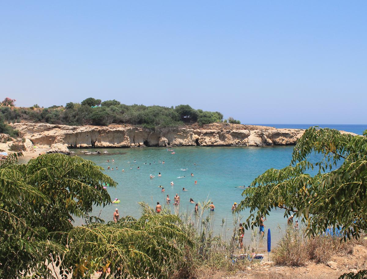 Фото с пляжами о кипра