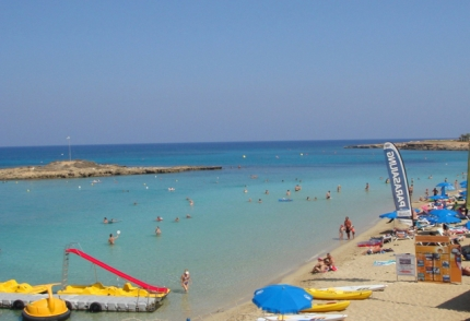Пляж Fig Tree Bay Beach в Протарасе