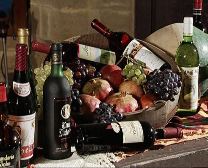Вино в качестве подарка с Кипра