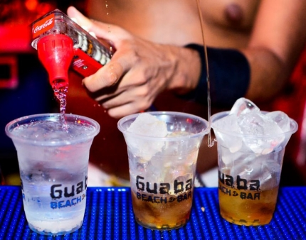 Guaba Beach Bar в Лимассоле. Фото с сайта www.guababeachbar.com
