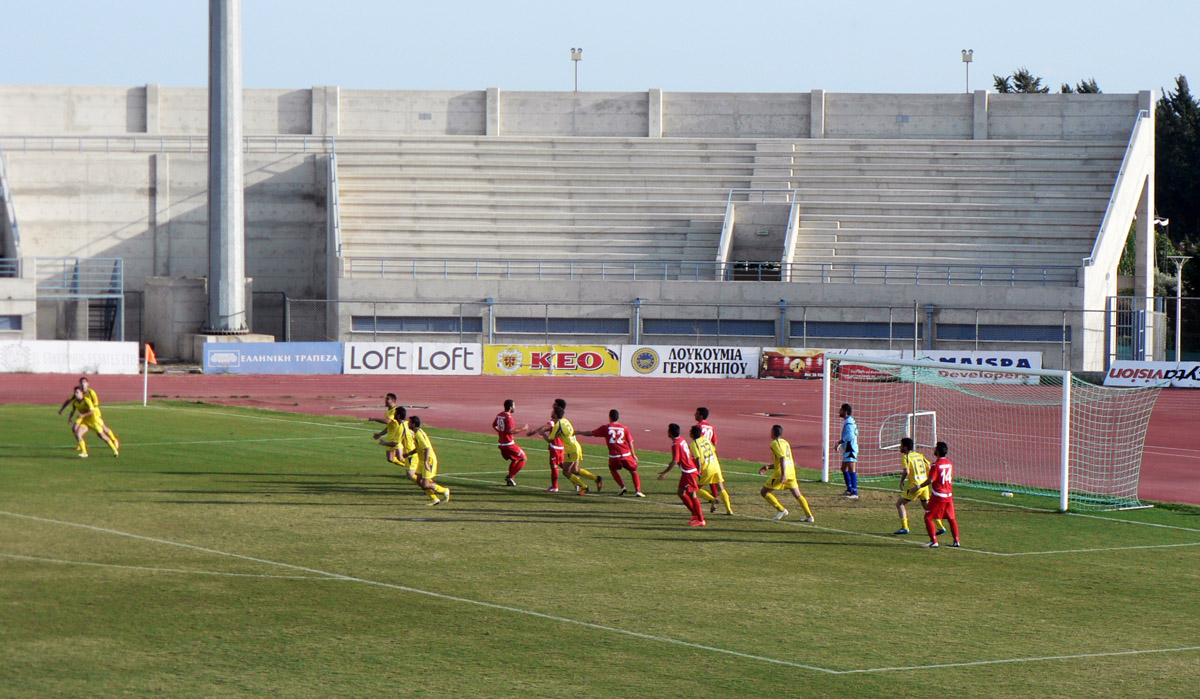 Футбол в Пафосе